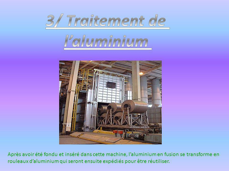 3/ Traitement de l'aluminium