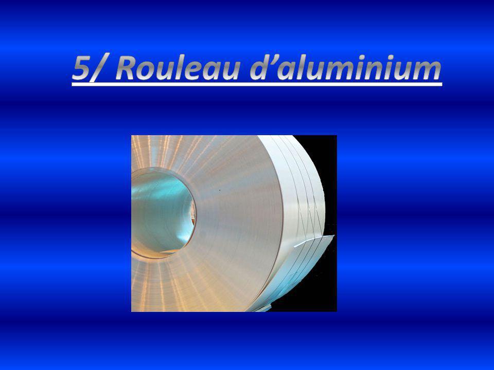 5/ Rouleau d'aluminium