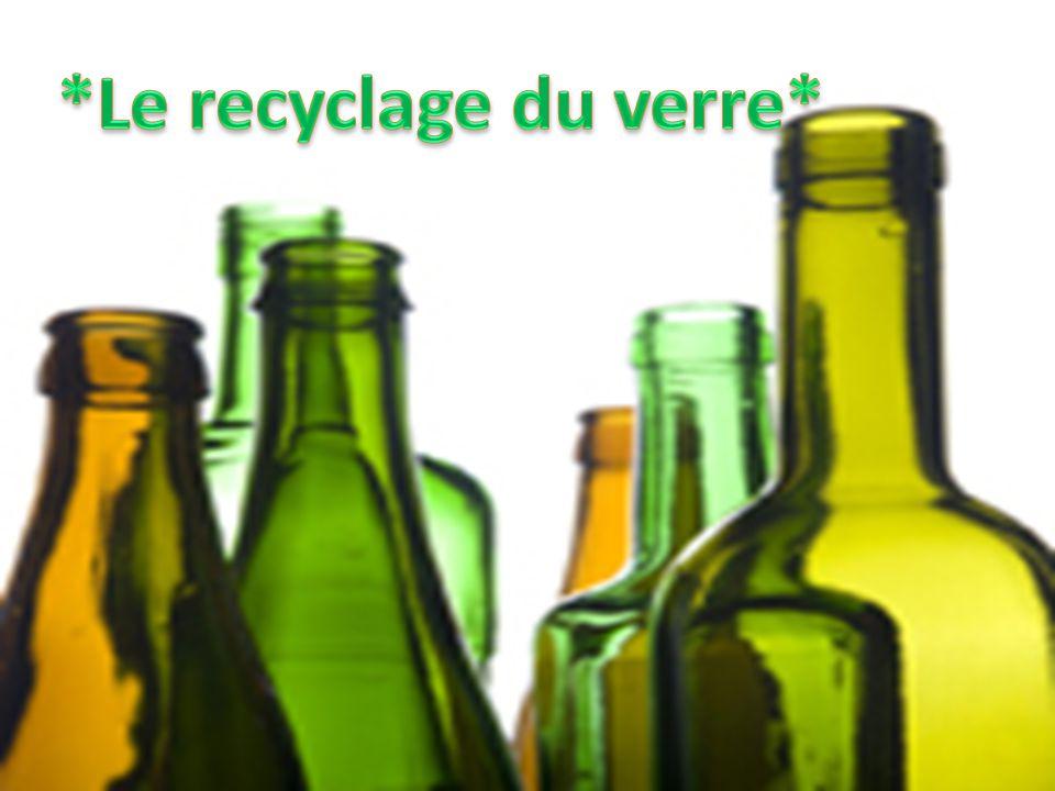 *Le recyclage du verre*