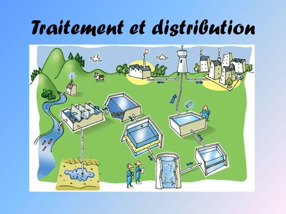 Traitement et distribution