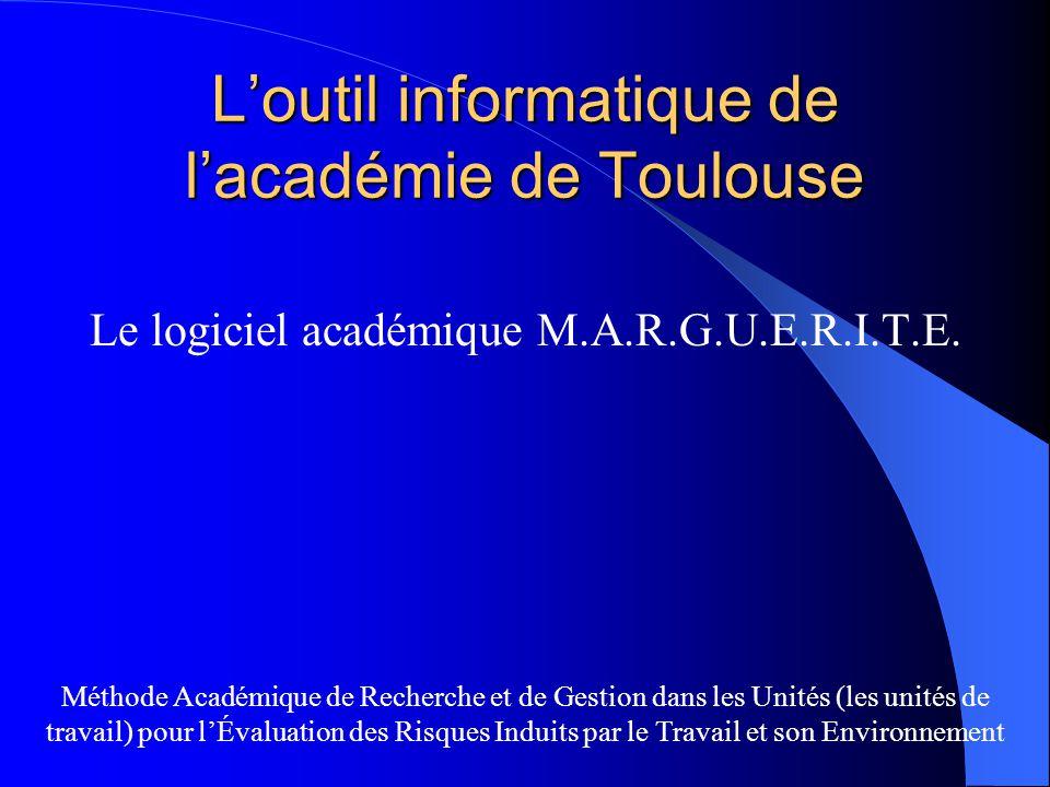 L'outil informatique de l'académie de Toulouse