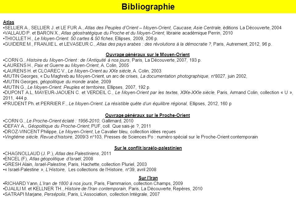 Bibliographie Atlas.
