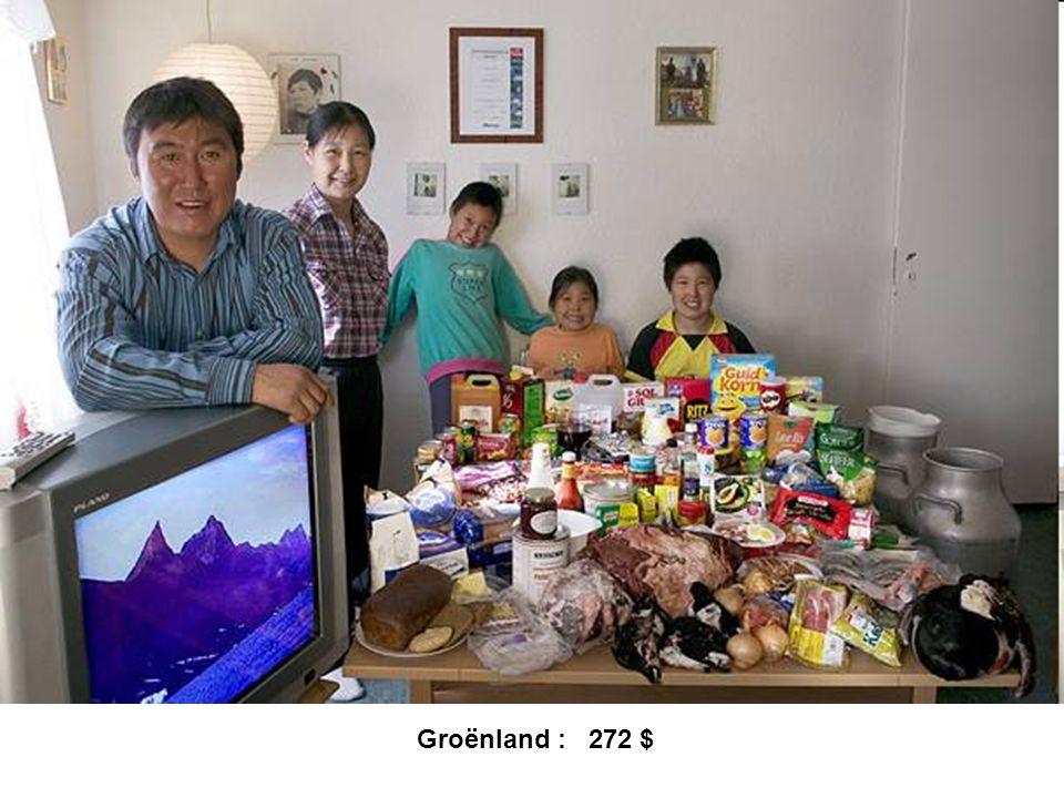 Groënland : 272 $