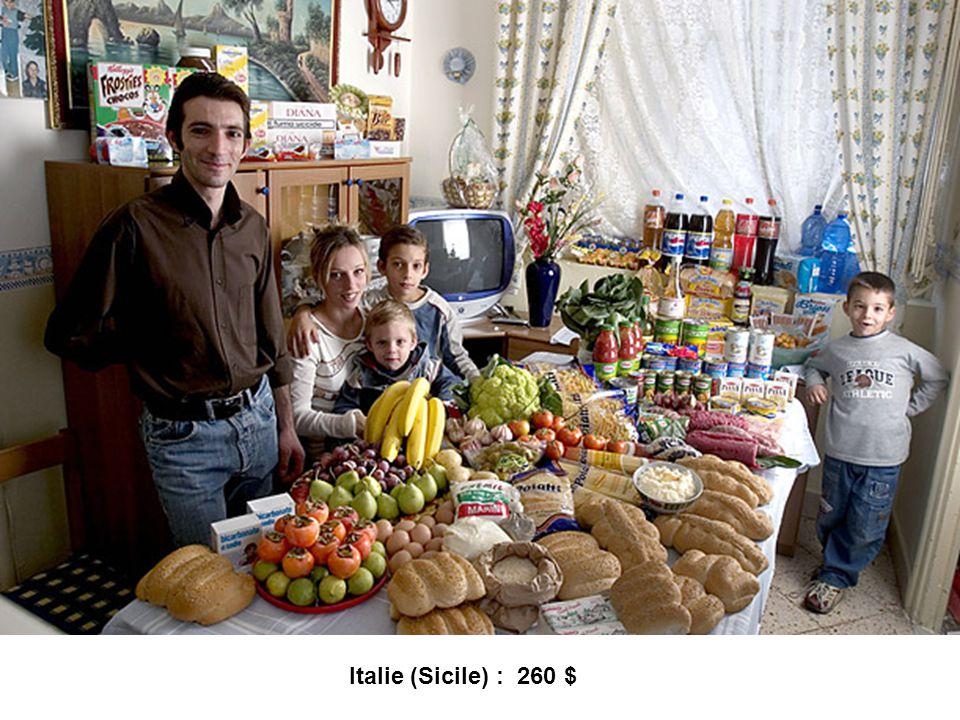 Italie (Sicile) : 260 $