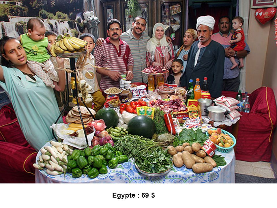 Egypte : 69 $