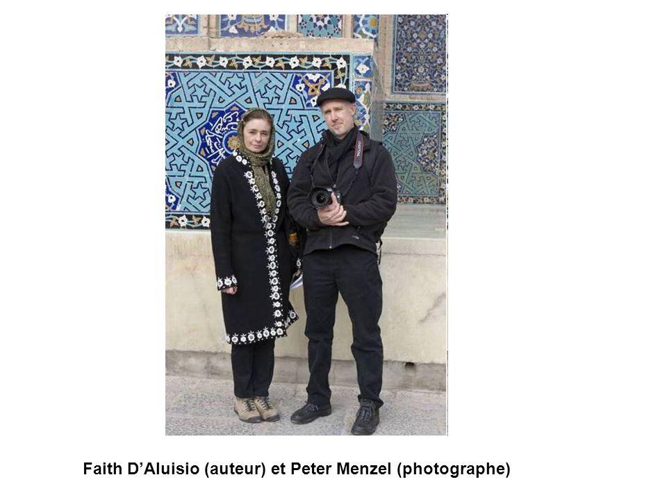 Faith D'Aluisio (auteur) et Peter Menzel (photographe)