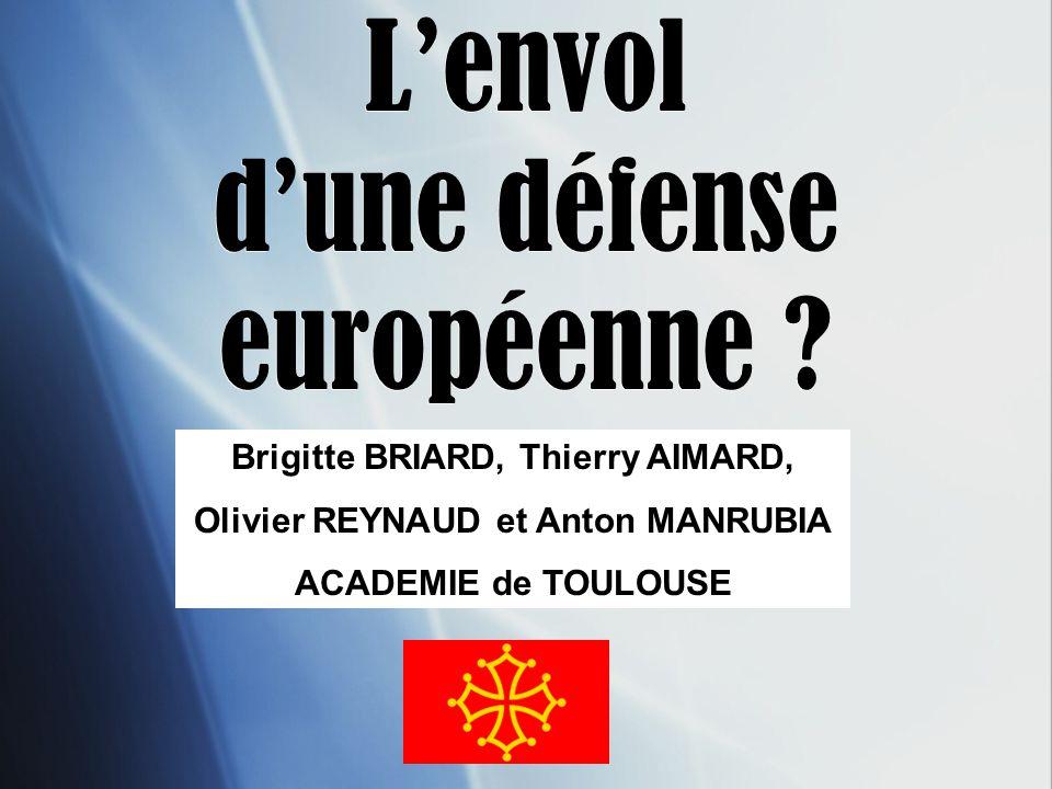 L'envol d'une défense européenne