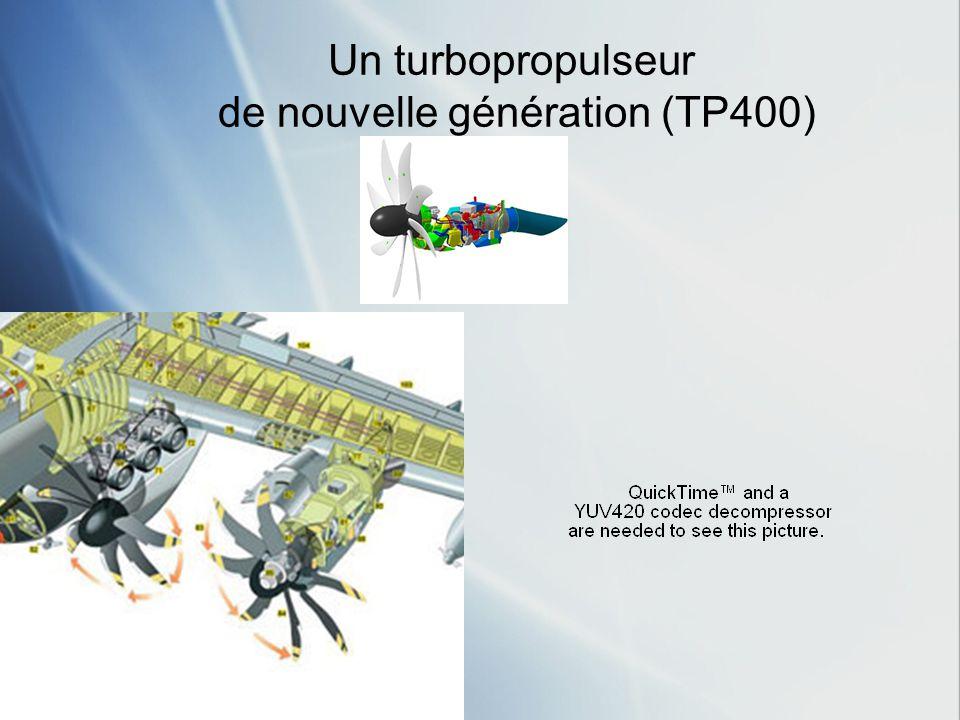 de nouvelle génération (TP400)