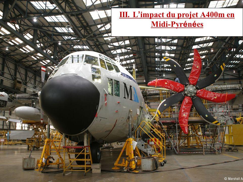III. L'impact du projet A400m en Midi-Pyrénées