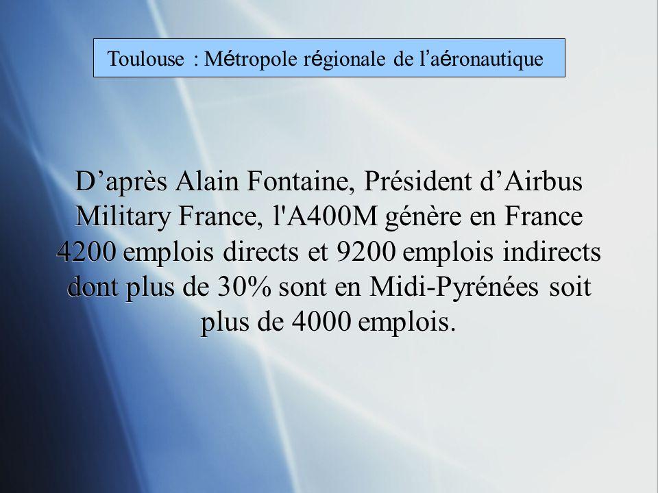 Toulouse : Métropole régionale de l'aéronautique
