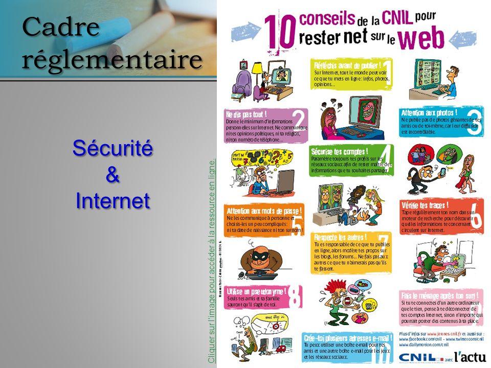 Cadre réglementaire Sécurité & Internet