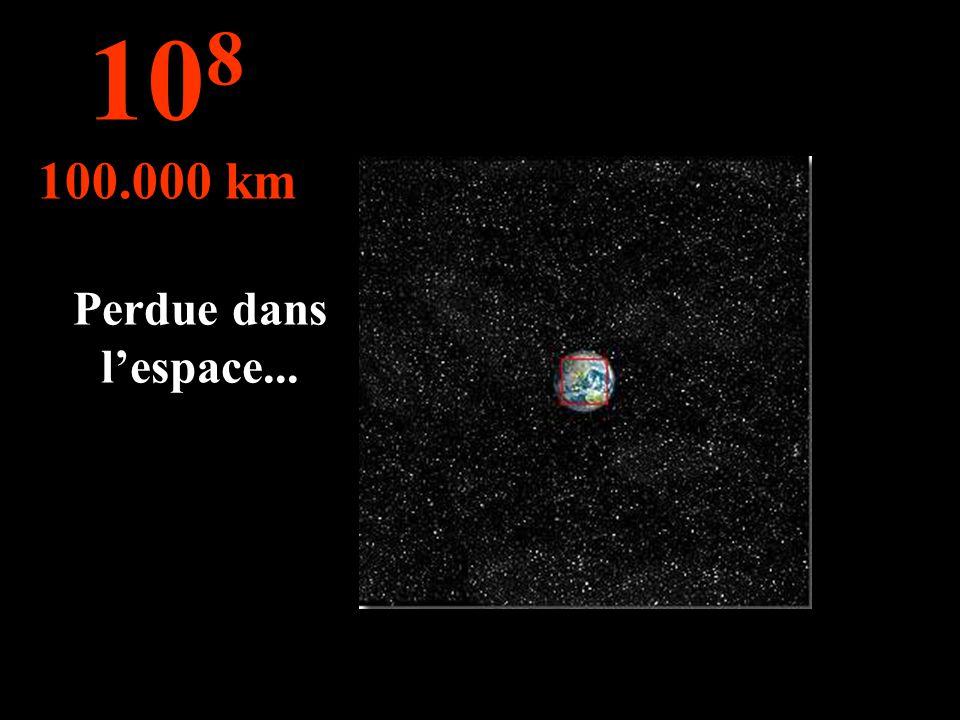 108 100.000 km Perdue dans l'espace...