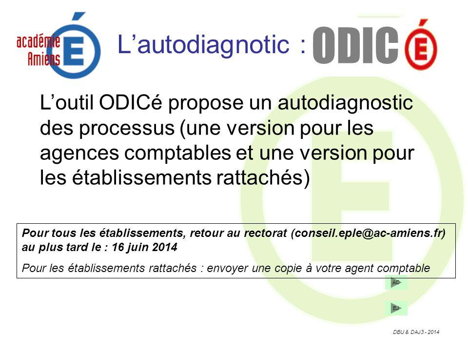 ODIC L'autodiagnotic :