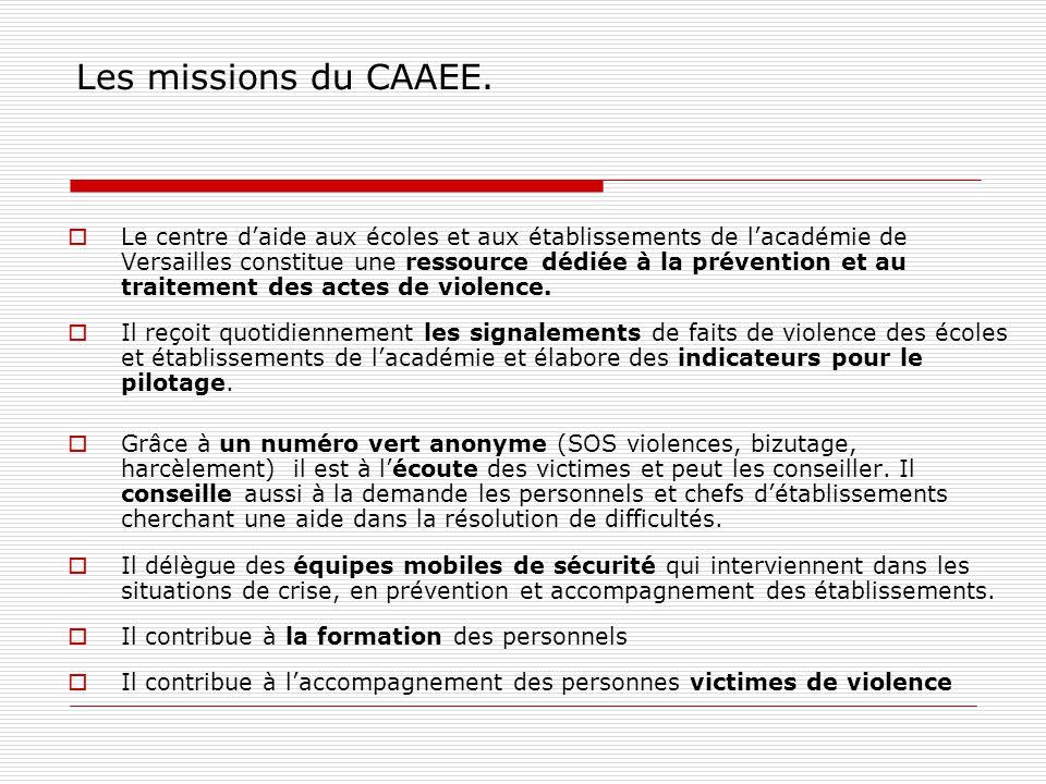 Les missions du CAAEE.