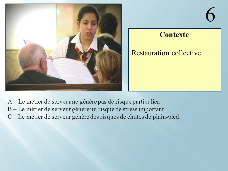 6 Contexte Restauration collective