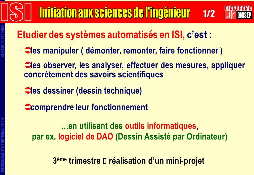 ISI Initiation aux sciences de l ingénieur DIAPORAMA