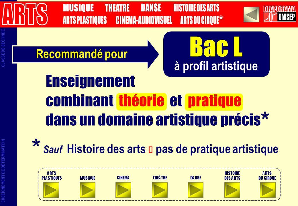 Sauf Histoire des arts è pas de pratique artistique
