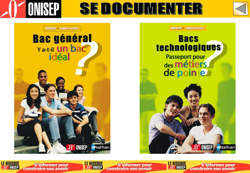 SE DOCUMENTER APRES BAC GENERAL - DIAPO 154