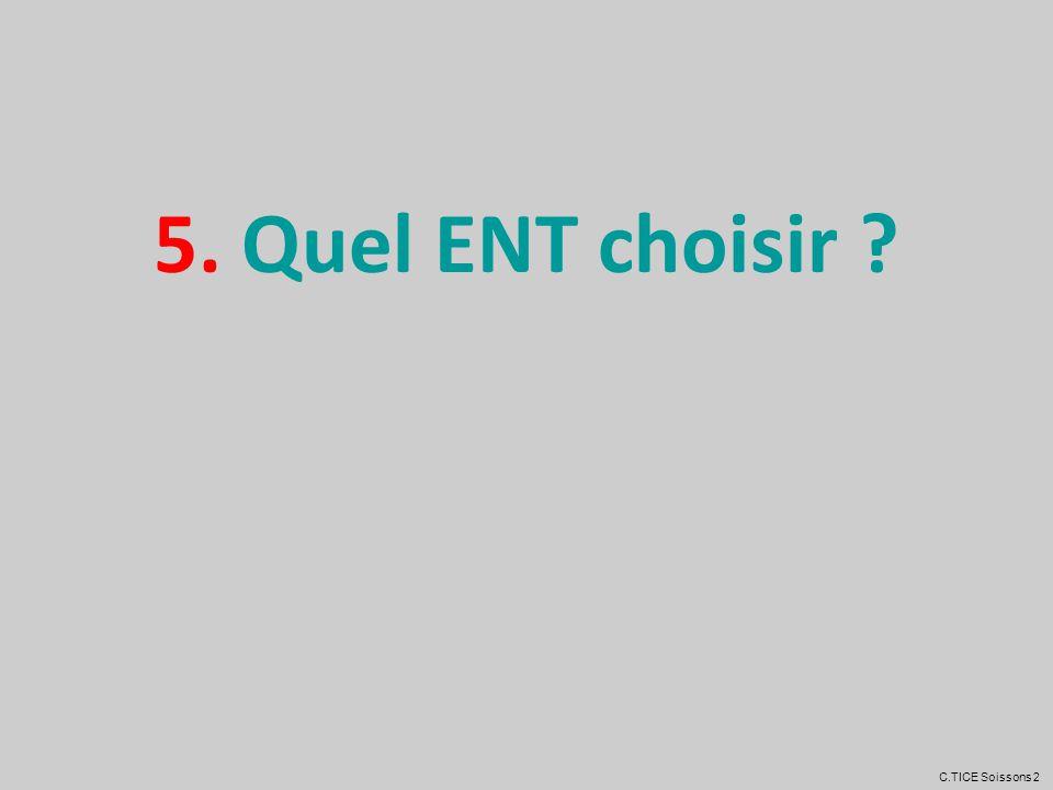5. Quel ENT choisir C.TICE Soissons 2