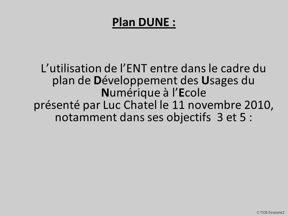 Plan DUNE :