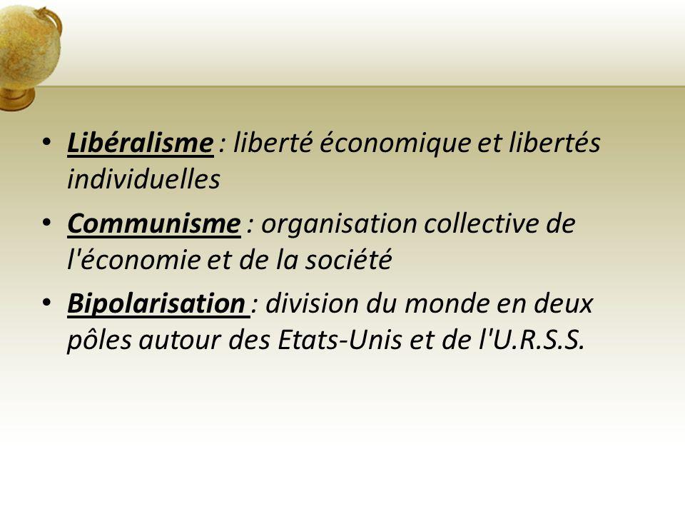 Libéralisme : liberté économique et libertés individuelles
