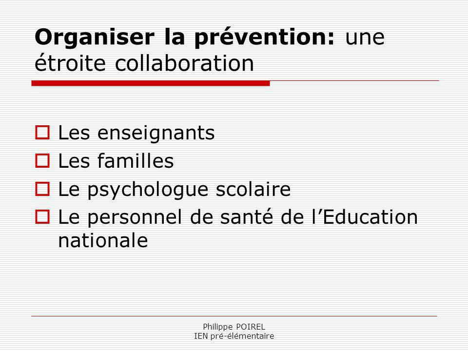 Organiser la prévention: une étroite collaboration