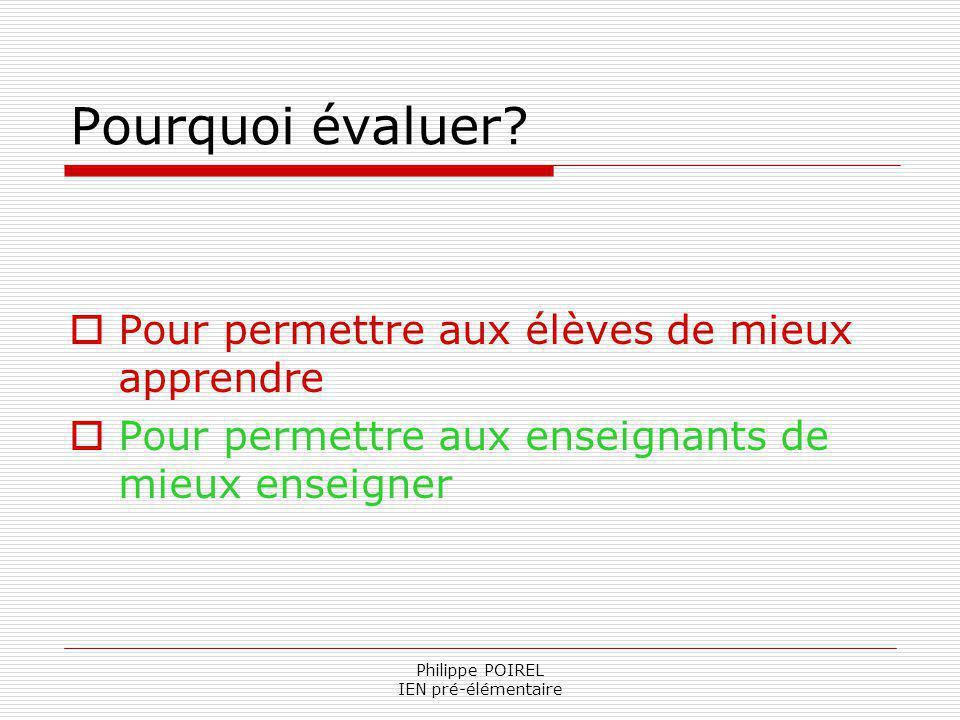 Philippe POIREL IEN pré-élémentaire