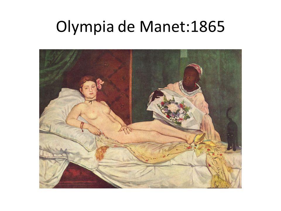 Olympia de Manet:1865
