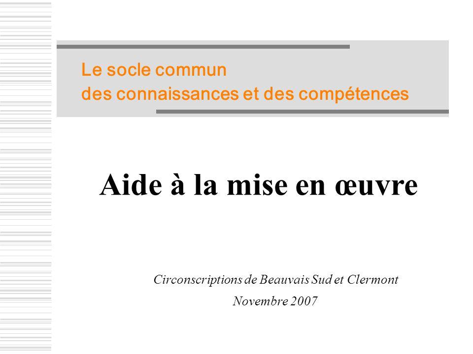 Circonscriptions de Beauvais Sud et Clermont
