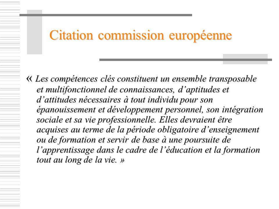 Citation commission européenne