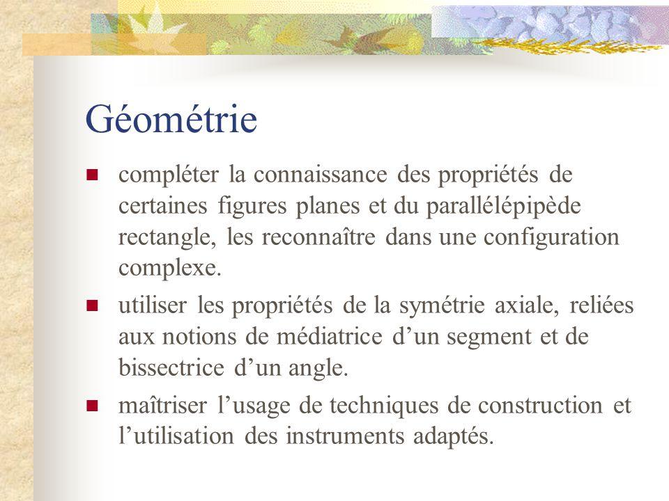 Géométrie