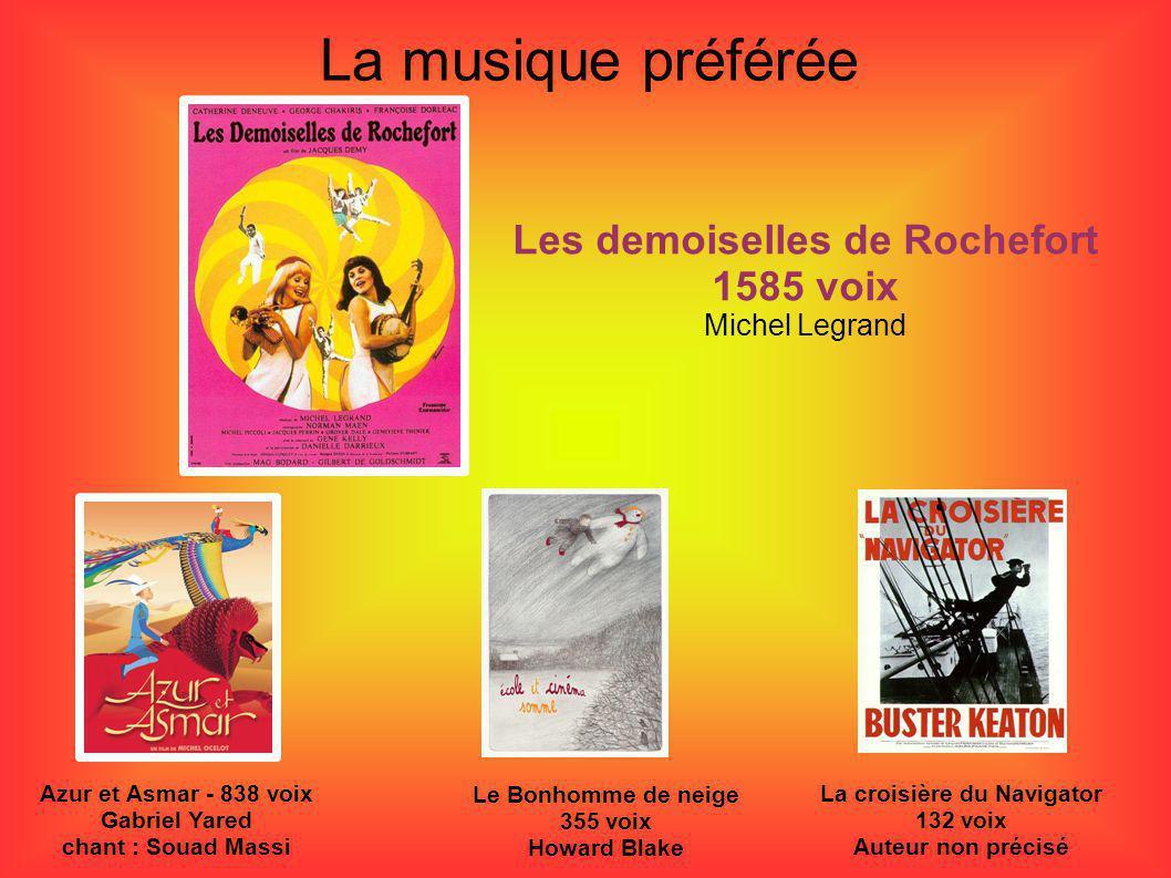 Les demoiselles de Rochefort 1585 voix La croisière du Navigator