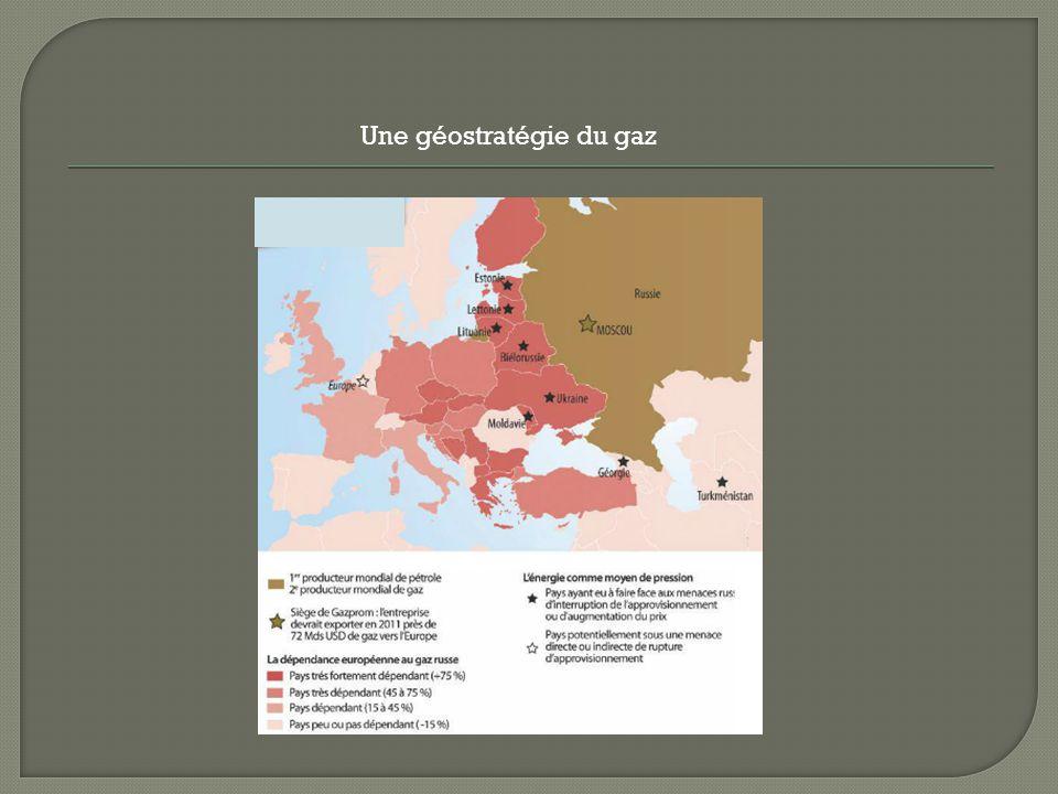 Une géostratégie du gaz