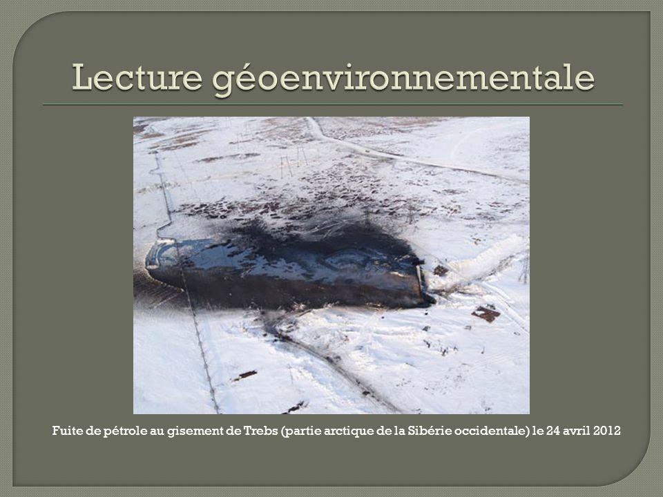 Lecture géoenvironnementale
