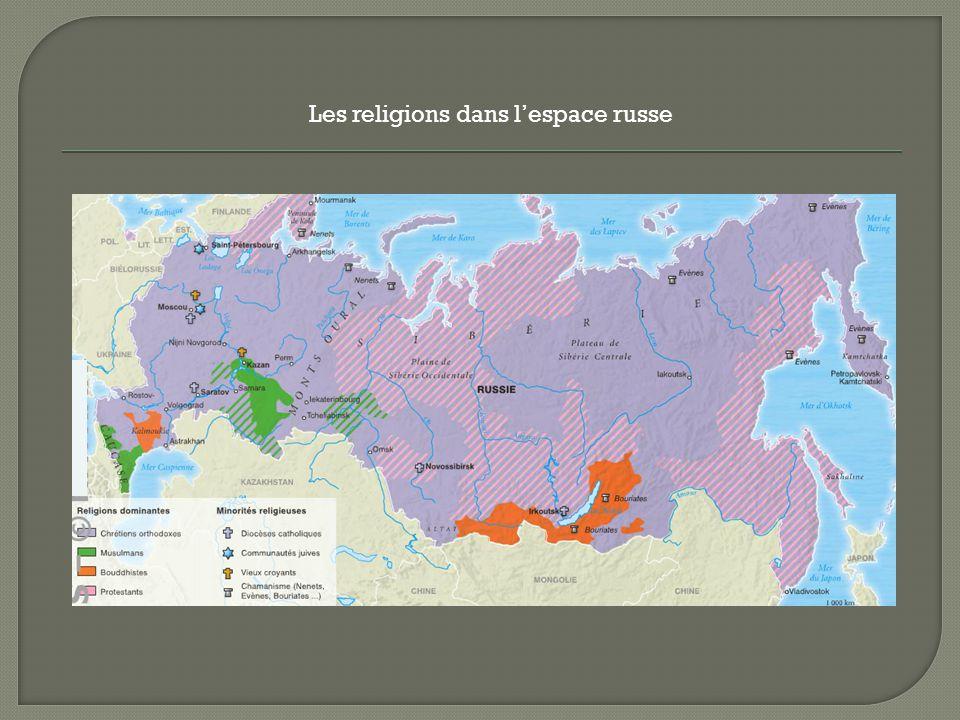 Les religions dans l'espace russe