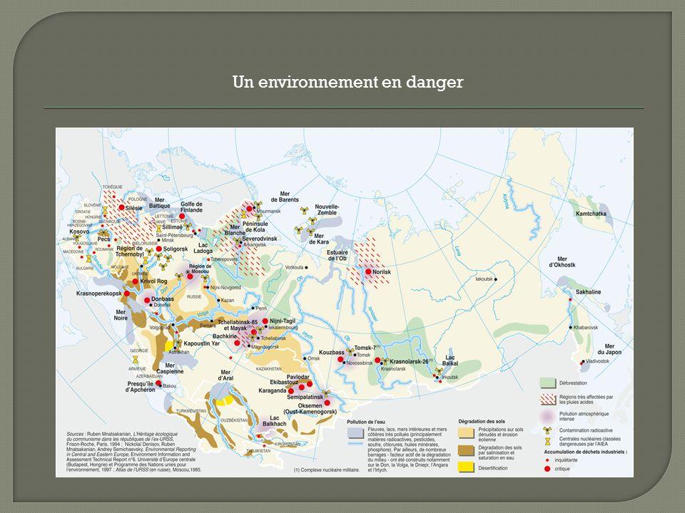 Un environnement en danger