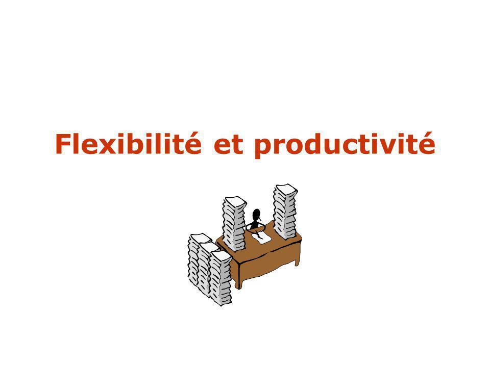 Flexibilité et productivité