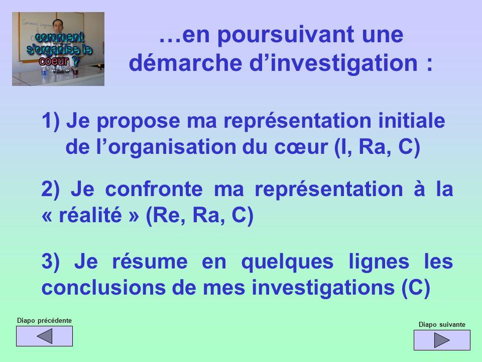 …en poursuivant une démarche d'investigation :