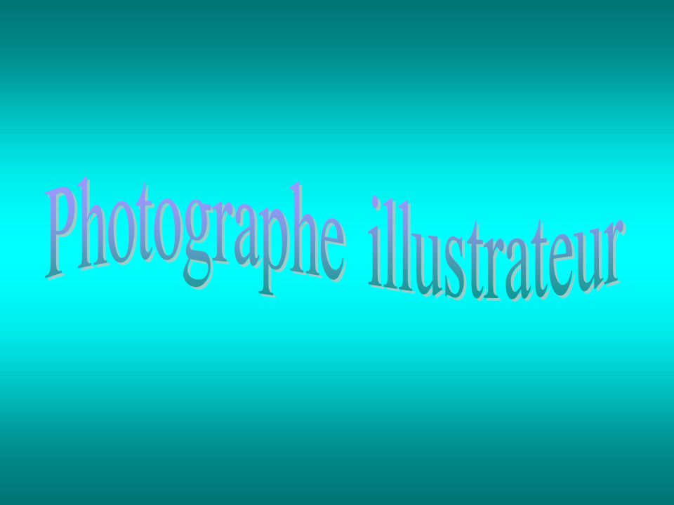 Photographe illustrateur