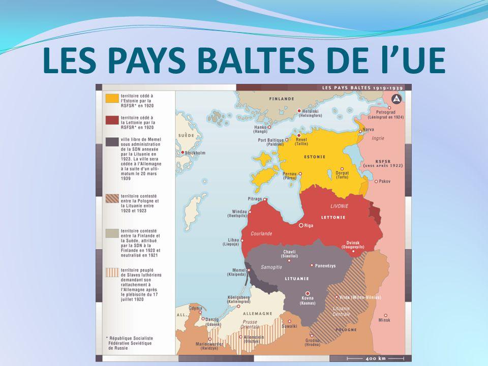 LES PAYS BALTES DE l'UE