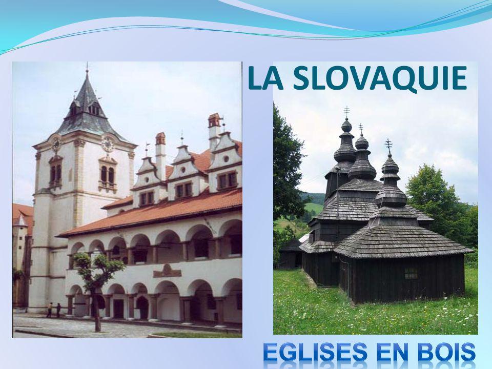 LA SLOVAQUIE Eglises en bois