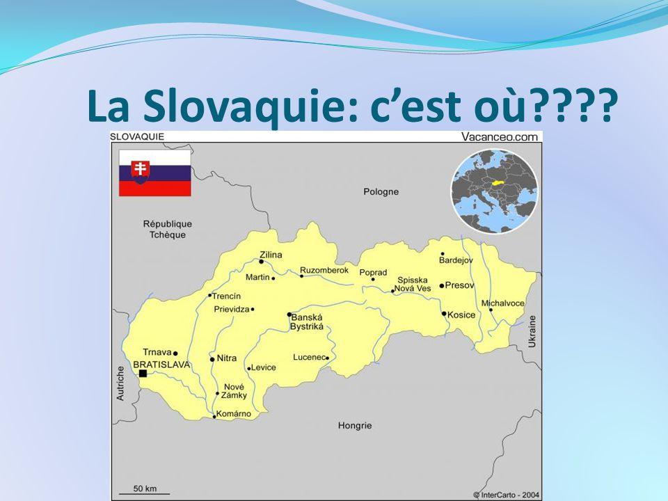 La Slovaquie: c'est où