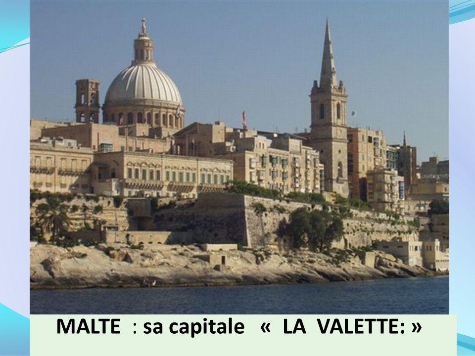 LA VALETTE : capitale de Malte