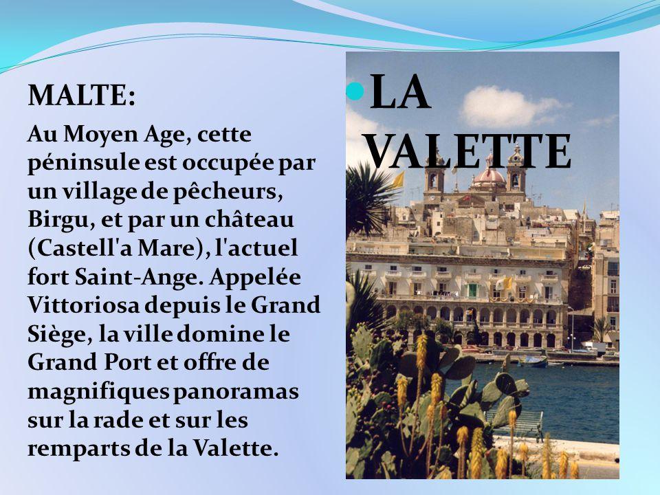 LA VALETTE MALTE: