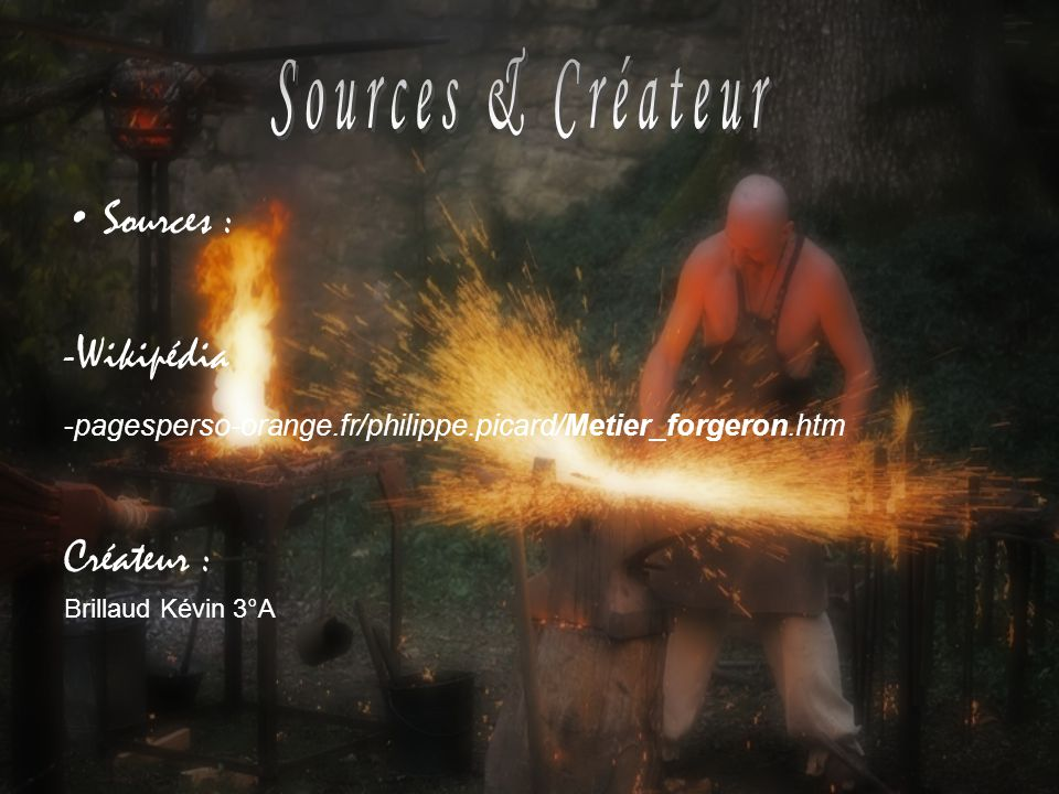 Sources & Créateur Sources : -Wikipédia Créateur :