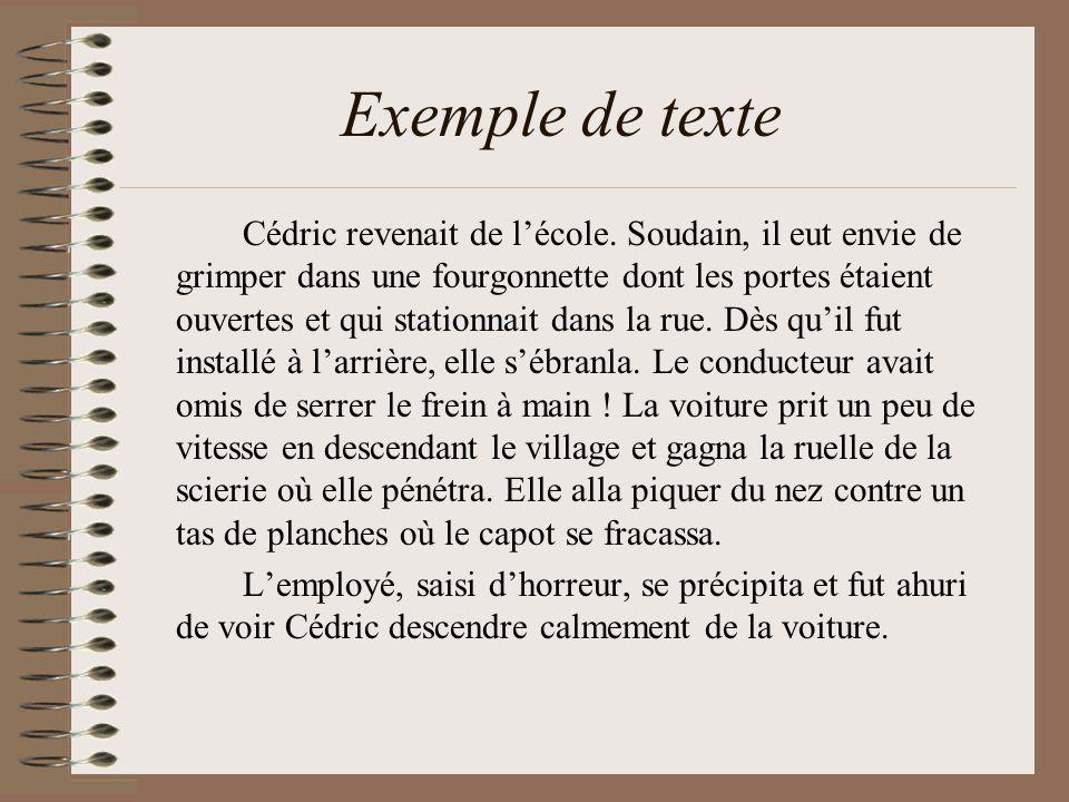 Exemple de texte