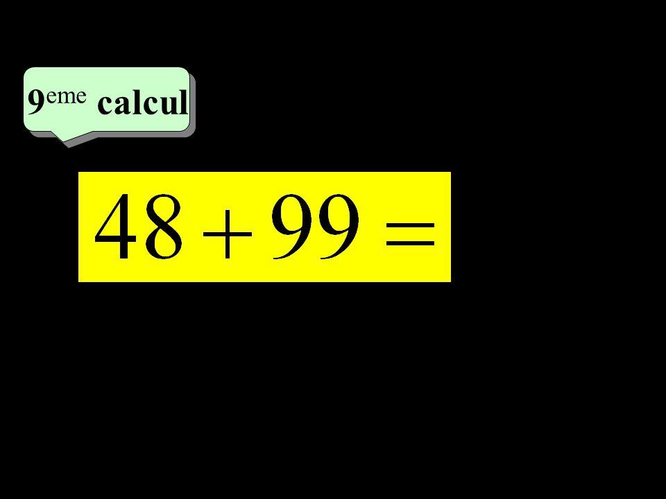 9eme calcul 5eme calcul 1