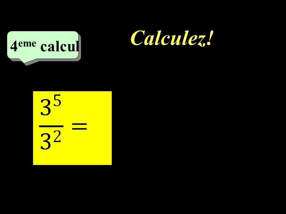 Calculez! 4eme calcul 1