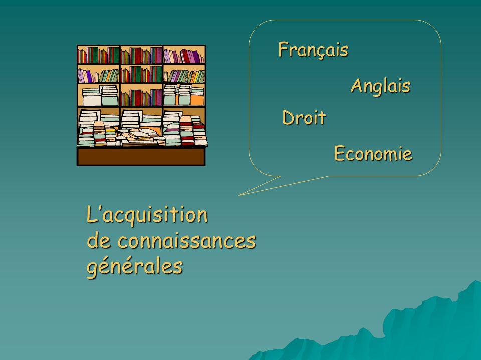 L'acquisition de connaissances générales
