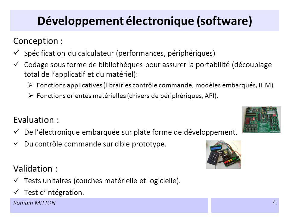 Développement électronique (software)